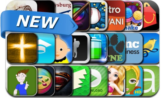 Newly Released iPhone & iPad Apps - May 5