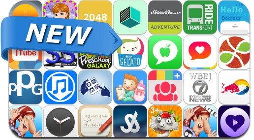 Newly Released iPhone & iPad Apps - May 10, 2014
