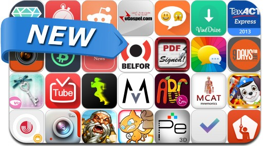 Newly Released iPhone & iPad Apps - January 18