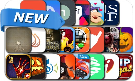 Newly Released iPhone & iPad Apps - November 1, 2014