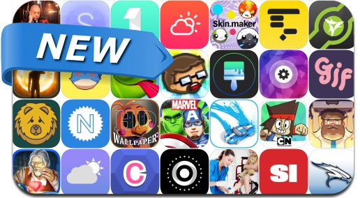 Newly Released iPhone & iPad Apps - February 5, 2016