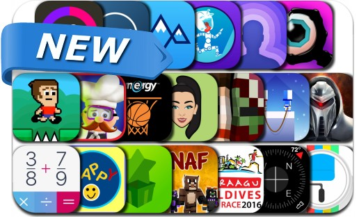 Newly Released iPhone & iPad Apps - November 12, 2016