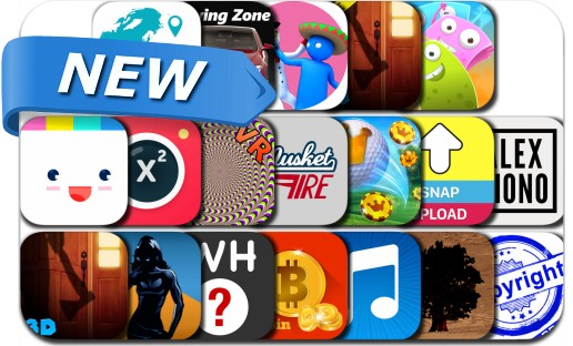 Newly Released iPhone & iPad Apps - January 21, 2017