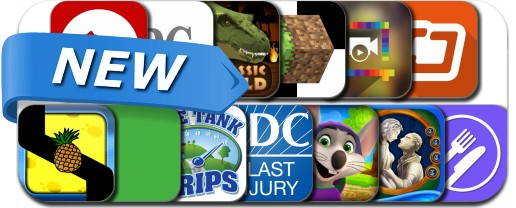 Newly Released iPhone & iPad Apps - July 1, 2014