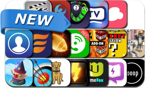 Newly Released iPhone & iPad Apps - November 25, 2016