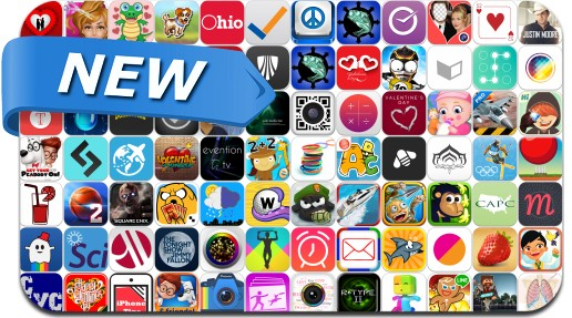 Newly Released iPhone & iPad Apps - February 15, 2014