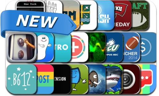 Newly Released iPhone & iPad Apps - August 20, 2014