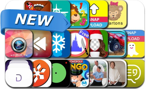 Newly Released iPhone & iPad Apps - December 29, 2014