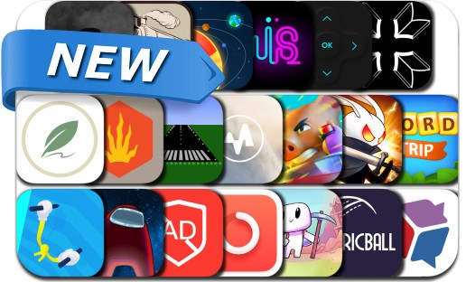 Newly Released iPhone & iPad Apps - November 9, 2020