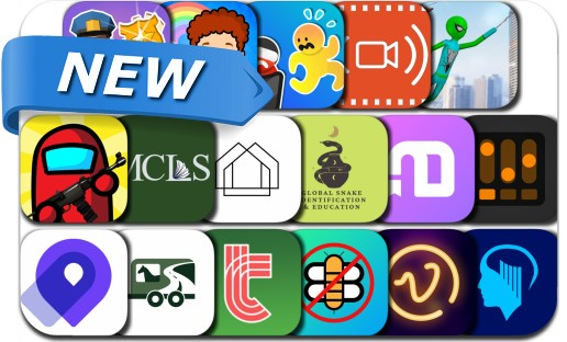 Newly Released iPhone & iPad Apps - February 22, 2021