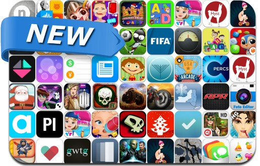 Newly Released iPhone & iPad Apps - November 28
