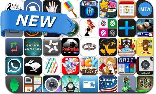 Newly Released iPhone & iPad Apps - May 18