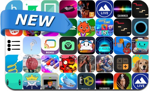 Newly Released iPhone & iPad Apps - February 18, 2019