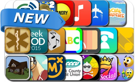 Newly Released iPhone & iPad Apps - January 14, 2015