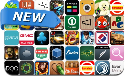 Newly Released iPhone & iPad Apps - August 30