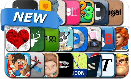 Newly Released iPhone & iPad Apps - July 28