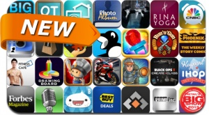 Newly Released iPhone and iPad Apps - January 5