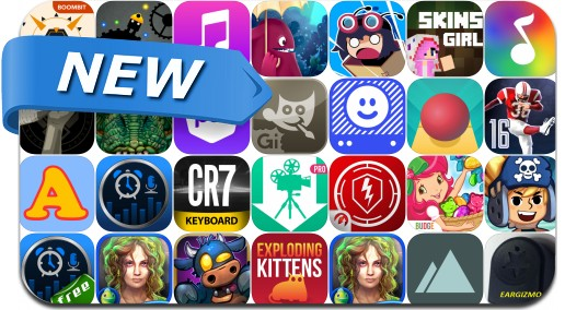 Newly Released iPhone & iPad Apps - January 22, 2016