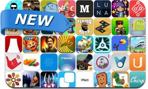 Newly Released iPhone & iPad Apps - March 21, 2014