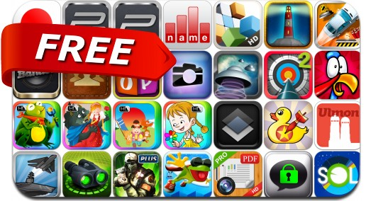iPhone & iPad Apps Gone Free - March 20