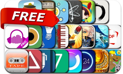 iPhone & iPad Apps Gone Free - September 3, 2015