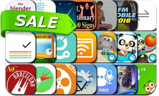 iPhone & iPad App Price Drops - August 12, 2016