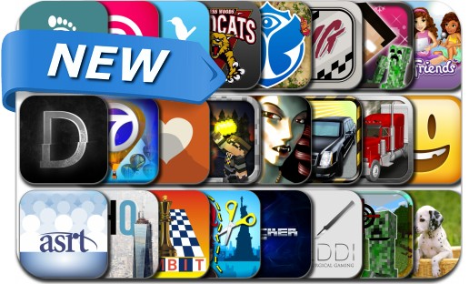 Newly Released iPhone & iPad Apps - September 23