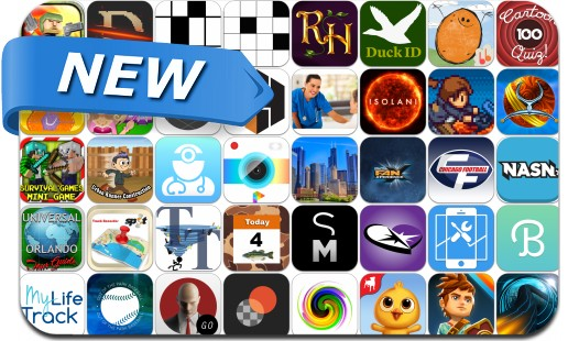 Newly Released iPhone & iPad Apps - April 18, 2014