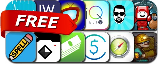 iPhone & iPad Apps Gone Free - October 6, 2014