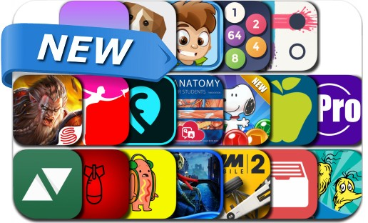 Newly Released iPhone & iPad Apps - July 14, 2017