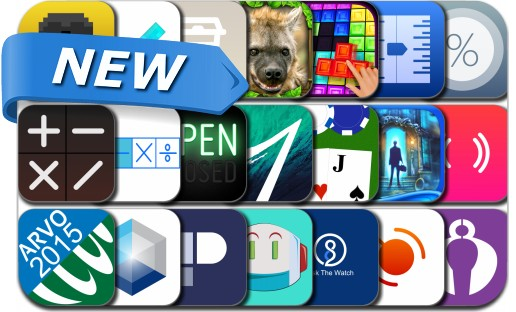 Newly Released iPhone & iPad Apps - April 28, 2015