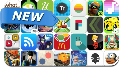 Newly Released iPhone & iPad Apps - May 30, 2014