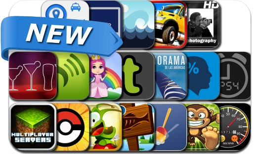Newly Released iPhone & iPad Apps - July 14