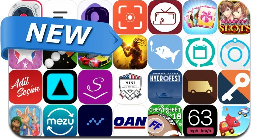 Newly Released iPhone & iPad Apps - June 25, 2018