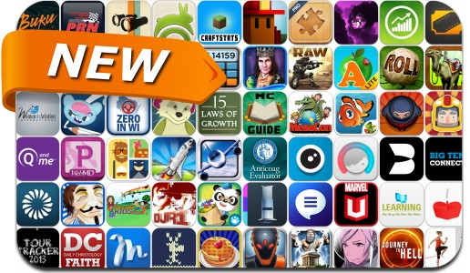 Newly Released iPhone & iPad Apps - March 8