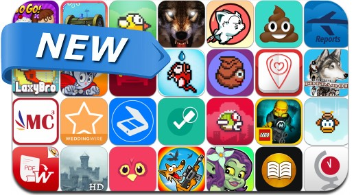 Newly Released iPhone & iPad Apps - March 1, 2014