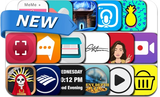 Newly Released iPhone & iPad Apps - December 13, 2016