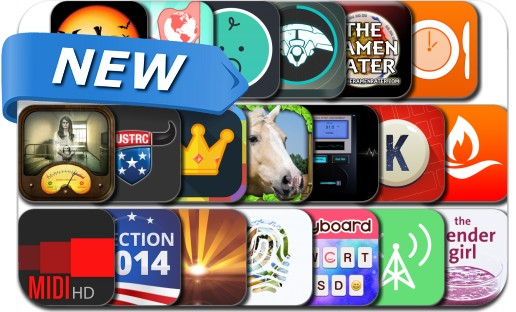 Newly Released iPhone & iPad Apps - October 27, 2014