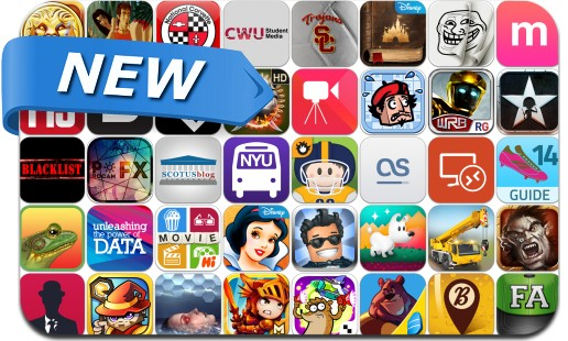 Newly Released iPhone & iPad Apps - October 18