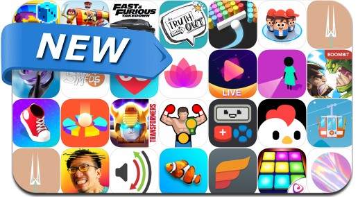 Newly Released iPhone & iPad Apps - December 1, 2018