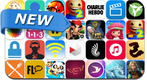 Newly Released iPhone & iPad Apps - January 16, 2015