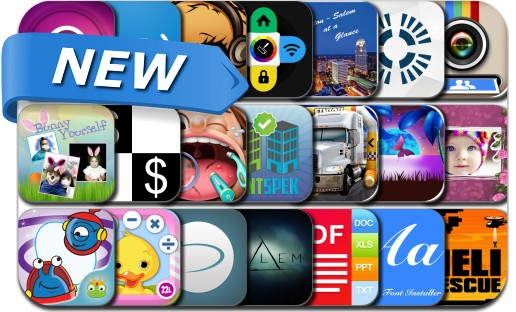 Newly Released iPhone & iPad Apps - April 21, 2014