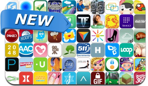 Newly Released iPhone & iPad Apps - April 23, 2014