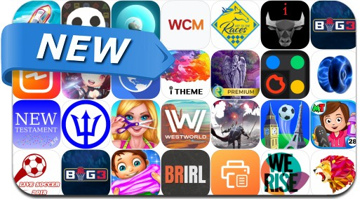 Newly Released iPhone & iPad Apps - June 22, 2018