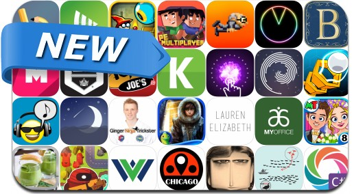 Newly Released iPhone & iPad Apps - April 15, 2016