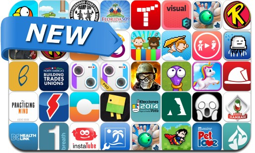 Newly Released iPhone & iPad Apps - March 8, 2014