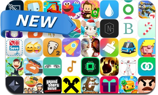 Newly Released iPhone & iPad Apps - December 18, 2015
