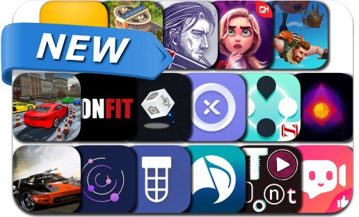 Newly Released iPhone & iPad Apps - January 5, 2019