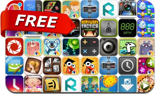iPhone & iPad Apps Gone Free - August 8