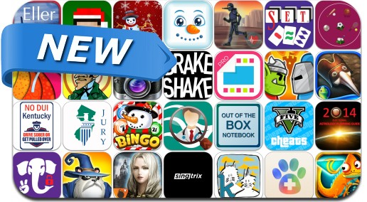 Newly Released iPhone & iPad Apps - December 14